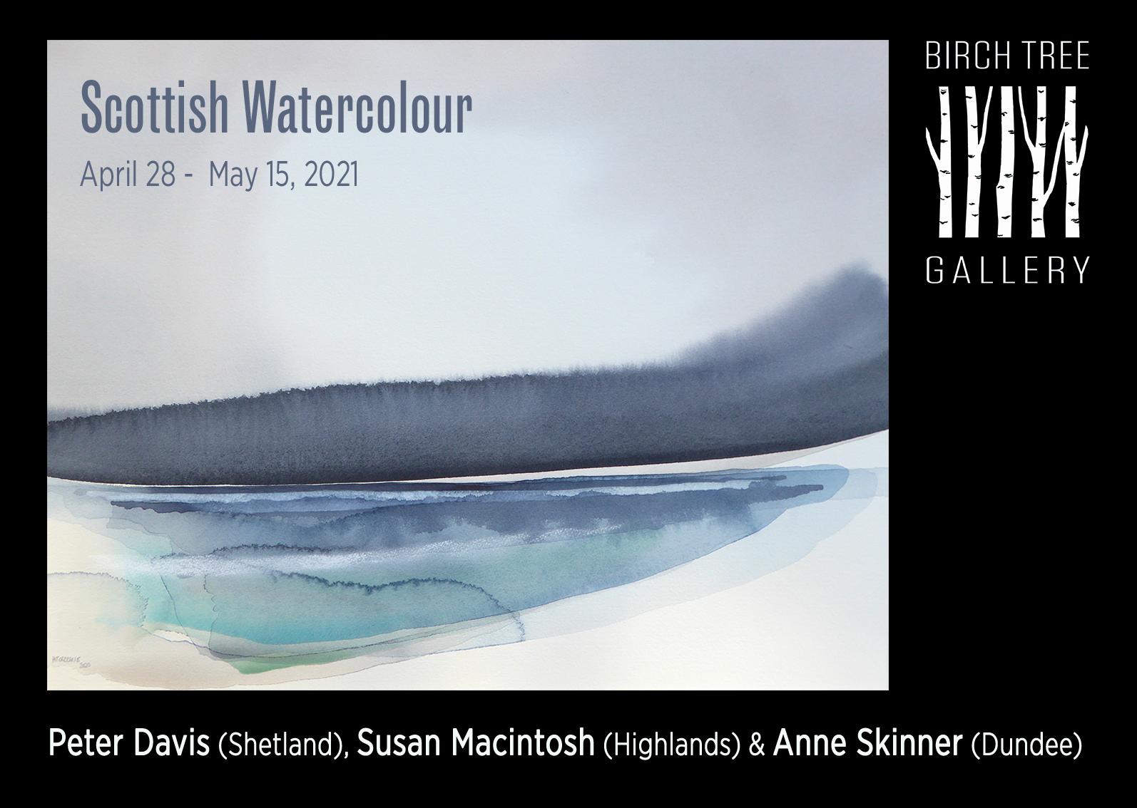 Birch Tree Gallery - Scottish Watercolour
