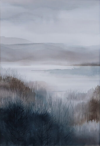 Anne Skinner. River- After the Rain