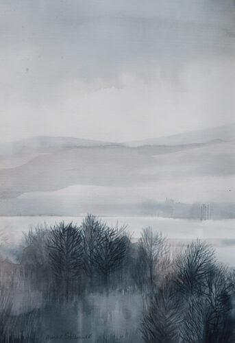 Anne Skinner. River- Distant Rain