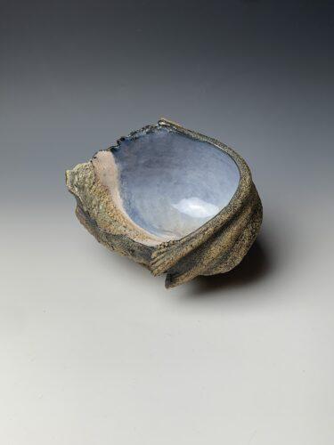 Hanna Salomonsson. Medium blue/lilac bowl M-BG-01