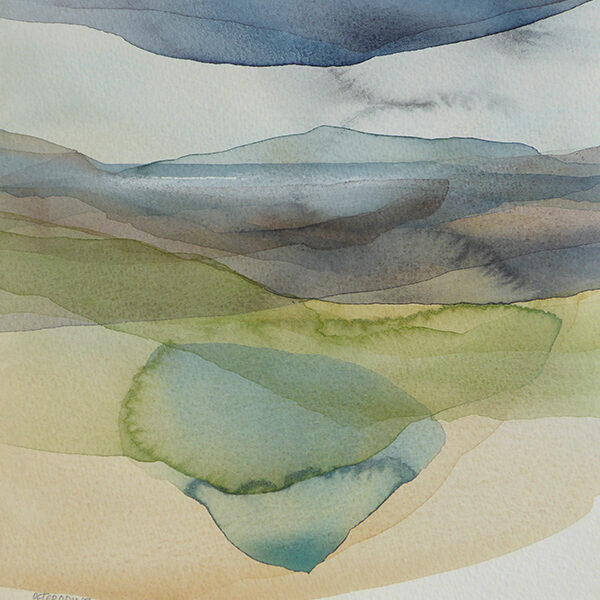Peter Davis, Lagoon, West Burrafirth, cropped square