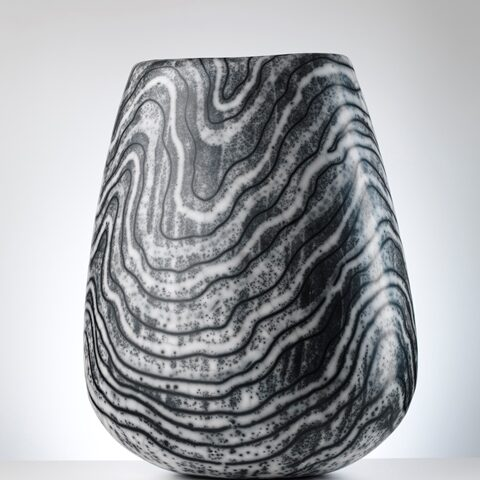 Reduced Lewisian Gneiss vase - Photo by Shannon Tofts