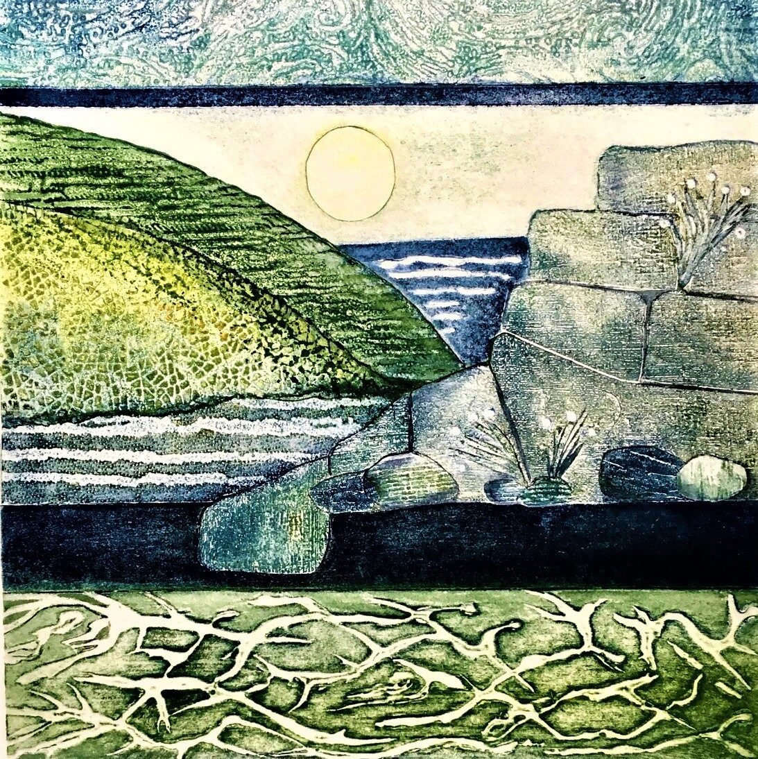 Gill Thompson. Tidelines (square cropped)